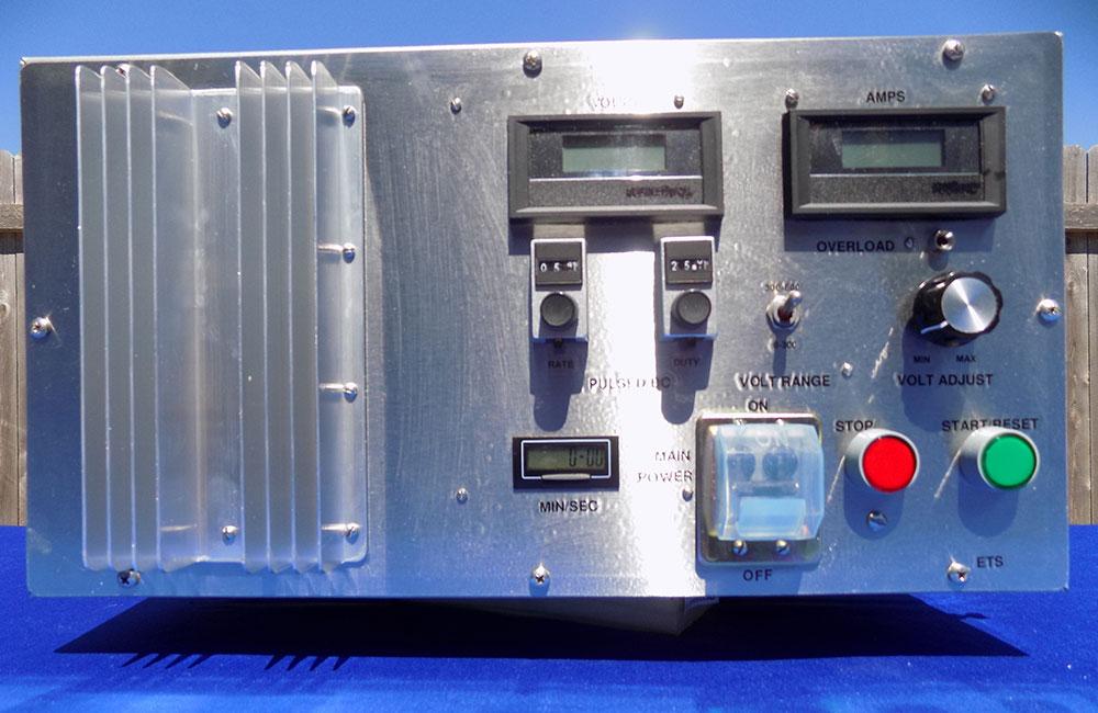 Boat electrofishing system